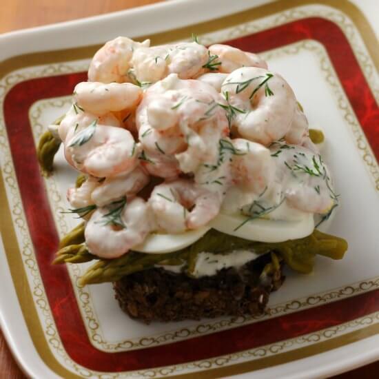 Swedish Shrimp Salad Sandwich Lydia S Flexitarian Kitchen